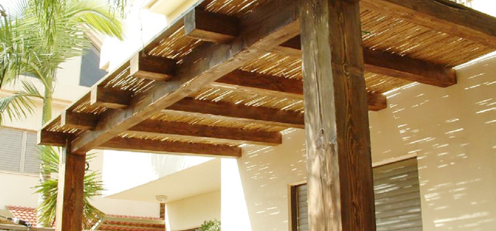 wood patio cover plans