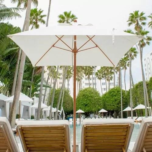 6 5 monterey square heavy duty wind proof commercial market umbrella