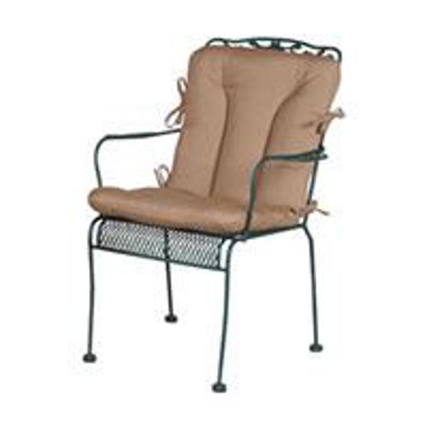chair pad stitched cushion 19 x 36