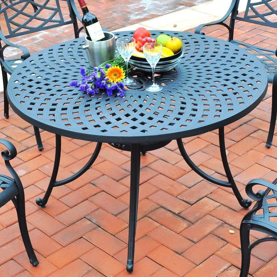 crosley furniture sedona round outdoor