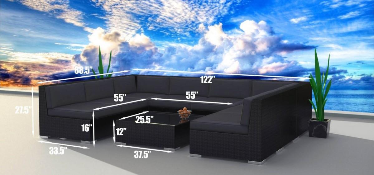 urban furnishing black series outdoor