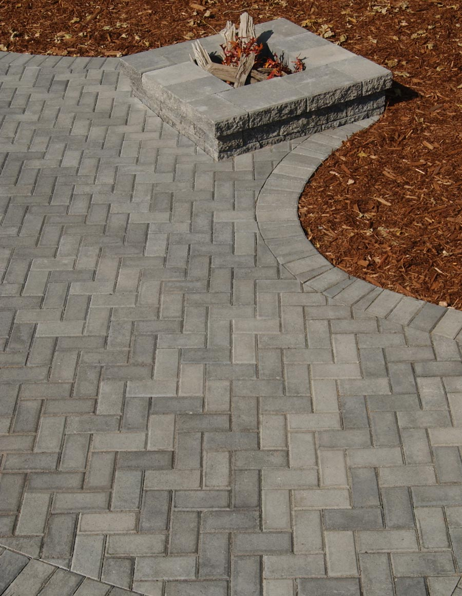 holland pavers patio town