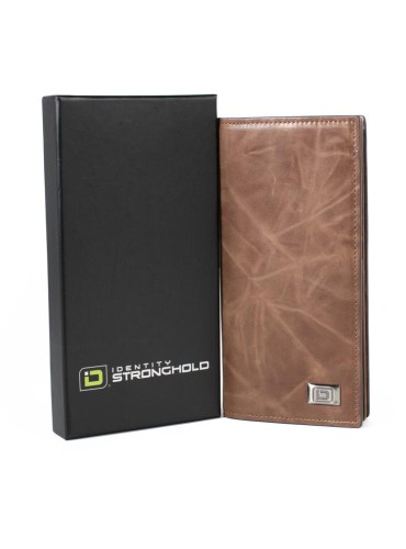 RFID Wallet for Checkbook Western