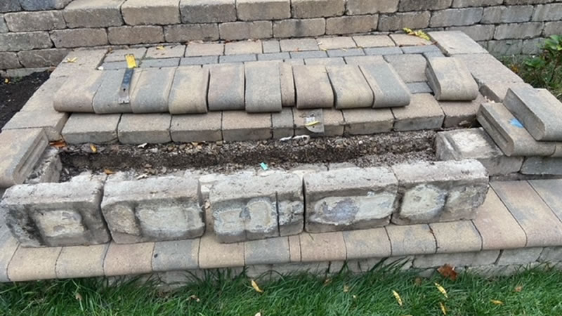 paver patio repair paver driveway