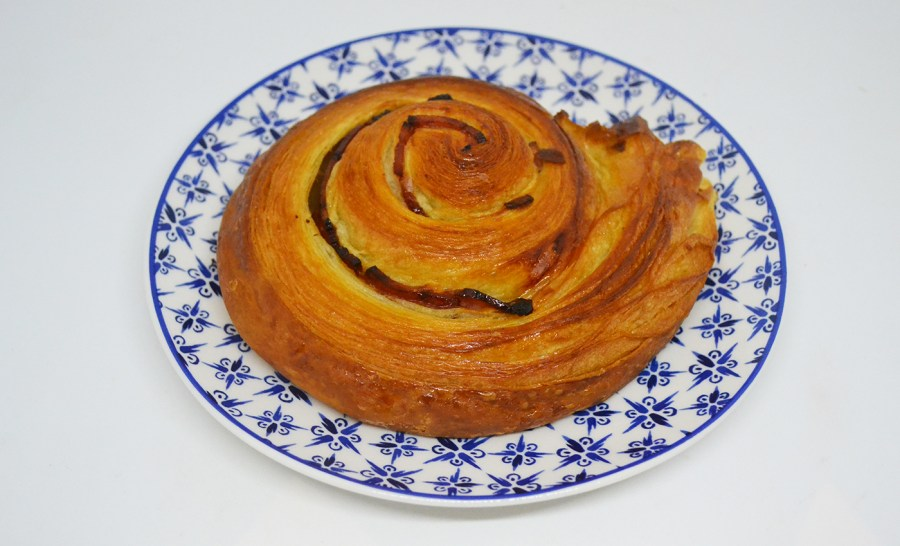 Pophams maple and bacon croissant