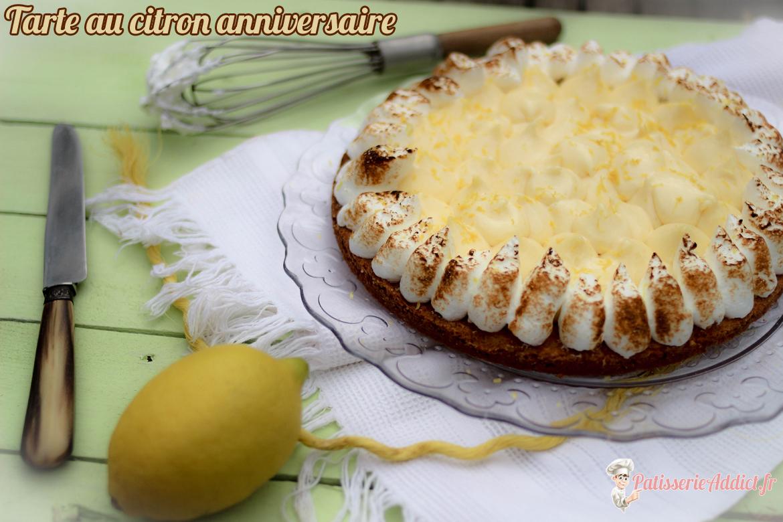 Tarte Au Citron Anniversaire