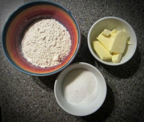 Crumble Ingredients