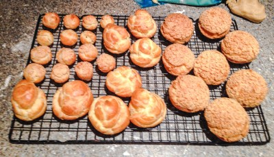 Baked choux