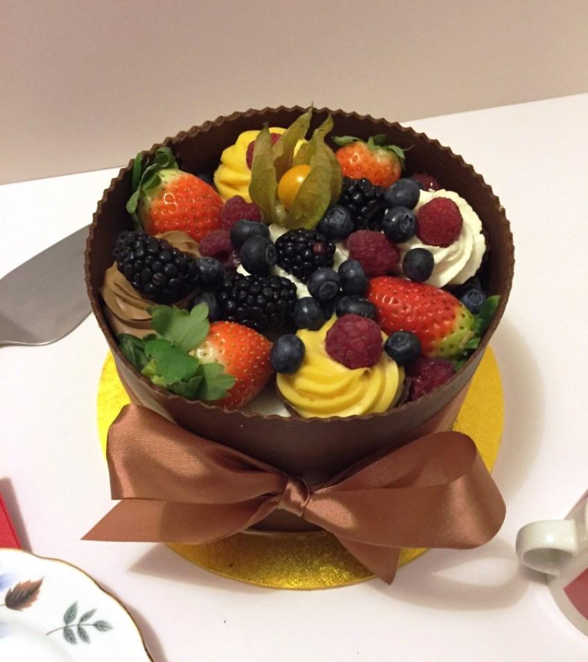 Patisserie Valerie - Create a cake