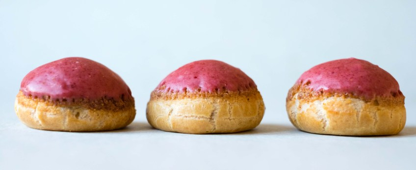 Strawberry Choux Puffs | Patisserie Makes Perfect