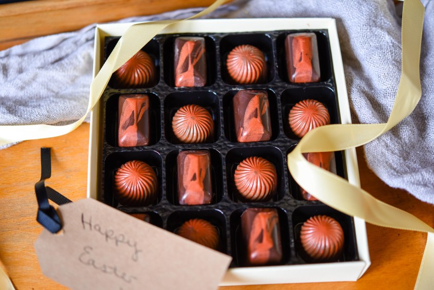 Ginger Caramels & Cherry Ganache | Patisserie Makes Perfect