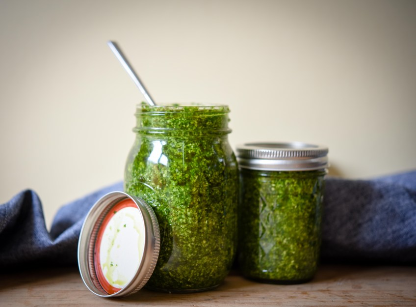 Wild Garlic Pesto | Patisserie Makes Perfect