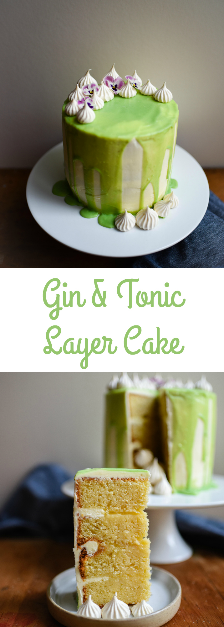 Gin & Tonic Layer Cake | Patisserie Makes Perfect