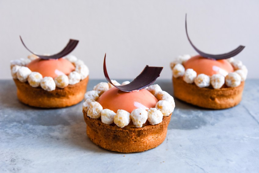 Valrhona Dulcey Hazelnut Entremet | Patisserie Makes Perfect
