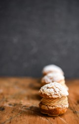 Hazelnut Praline Choux Buns | Patisserie Makes Perfect