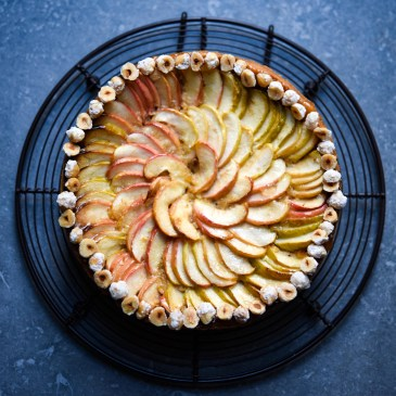 Apple & Hazelnut Frangipane Tart
