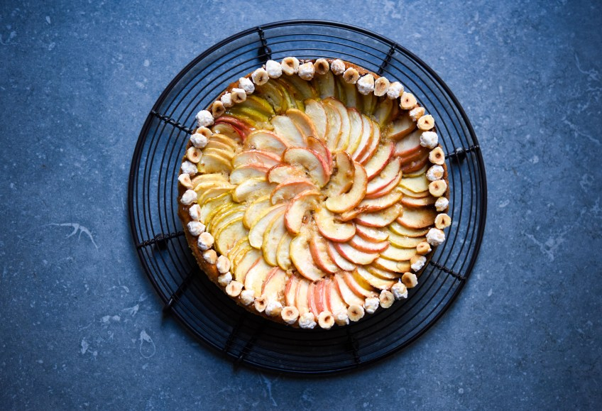 Apple & Hazelnut Frangipane Tart | Patisserie Makes Perfect
