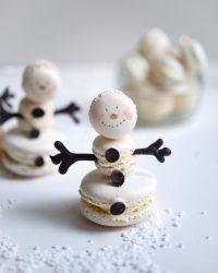 Snowmen Macaron | Patisserie Makes Perfect