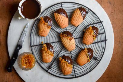 Chocolate Orange Madeleines | Patisserie Makes Perfect