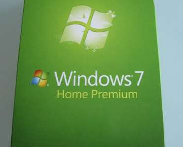 Windows 7 Home Premium Retail Box