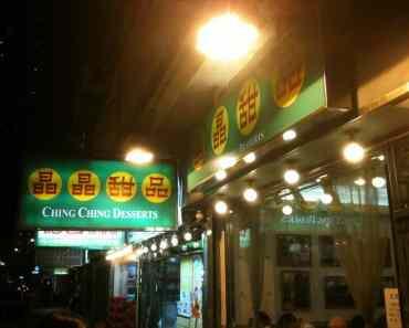 Ching Ching Dessert (晶晶甜品) at Electric Road