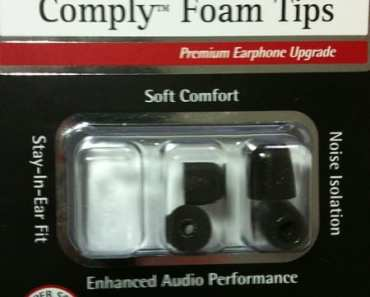 Comply Foam Tips T100 for Earphones