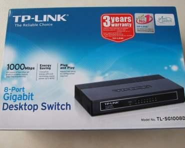 TP-Link 8 port gigabit switch TL-SG1008D