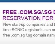 Free COM.SG Domains
