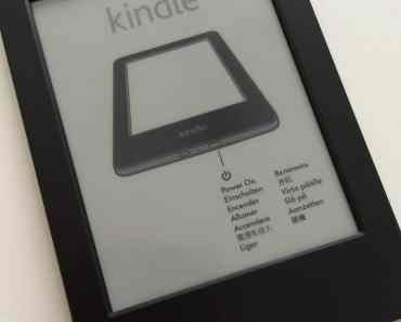 Kindle Late 2014 Basic Version