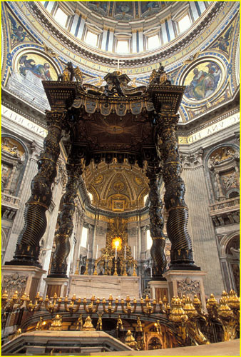 http://www.patoczka.net/Italy%201/images/16%20Bernini%27s%20canopy%20(Baldacchino)%20above%20St.%20Peters%20tomb,%20St.%20Peters%20Basilica,%20Rome.jpg