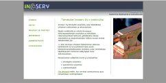 Incoserv Oy:n verkkosivuston suunnittelu ja toteutus, 2011.