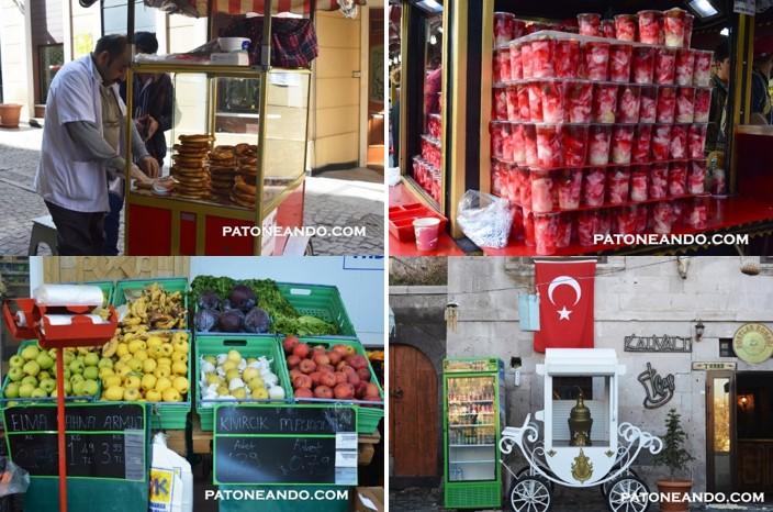 La comida callejera y la de los mercados en Turquía, además de ser deliciosa es económica