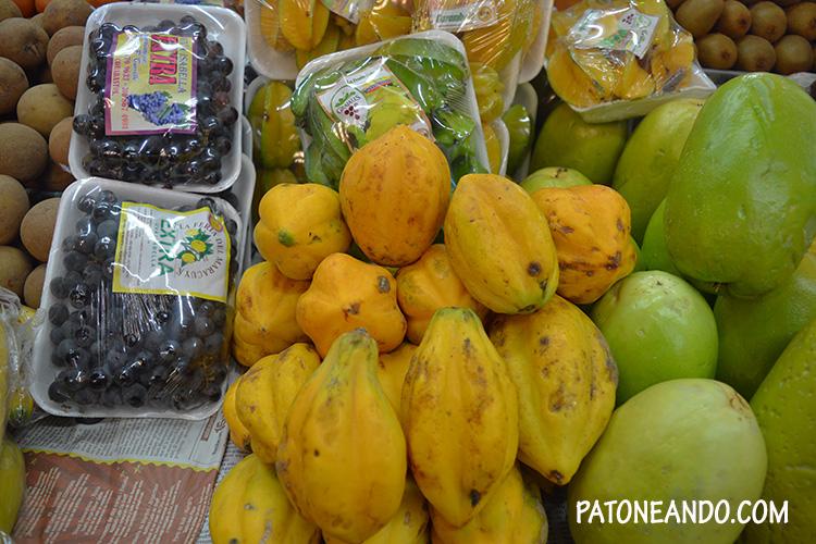 Frutas, frutas y más frutas...!!!