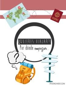 COMO ORGANIZAR UN VIAJE -DESCARGA GRATIS MI e-BOOK + checklist- Patoneando blog de viajes