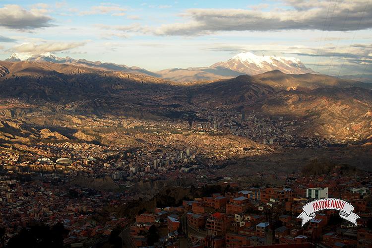 Lo caótico de La Paz