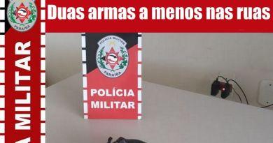 Homem é preso com duas armas e munições em Brejo do Cruz