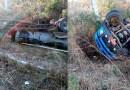 Caminhão pipa tomba em rodovia do Vale do Piancó na noite desta sexta-feira (15)