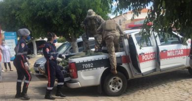 Confronto entre quadrilha que assaltou agência bancária em Coremas e PM deixa vários mortos neste sábado (19)