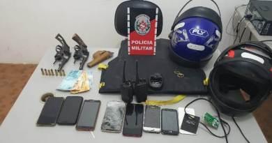 Grupo acusado da prática de roubos em Santa Terezinha é preso pela polícia