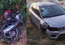 Colisão entre carro e moto na manhã deste domingo (18) deixa vítima fatal na BR-361 na saída para Santa Terezinha-PB