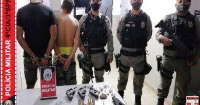 Polícia Militar age rápido, impede homicídio e apreende armas de fogo e drogas em Desterro