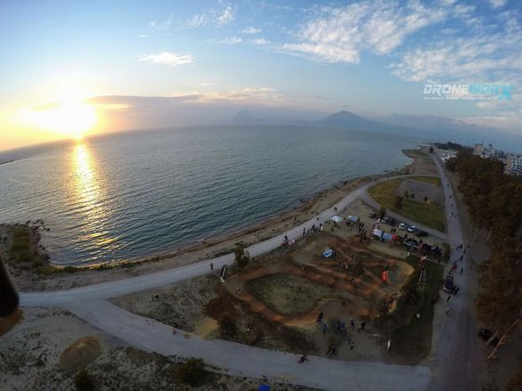 To «Patras Pump Track» από ψηλά είναι το ίδιο εντυπωσιακό (pics+video)