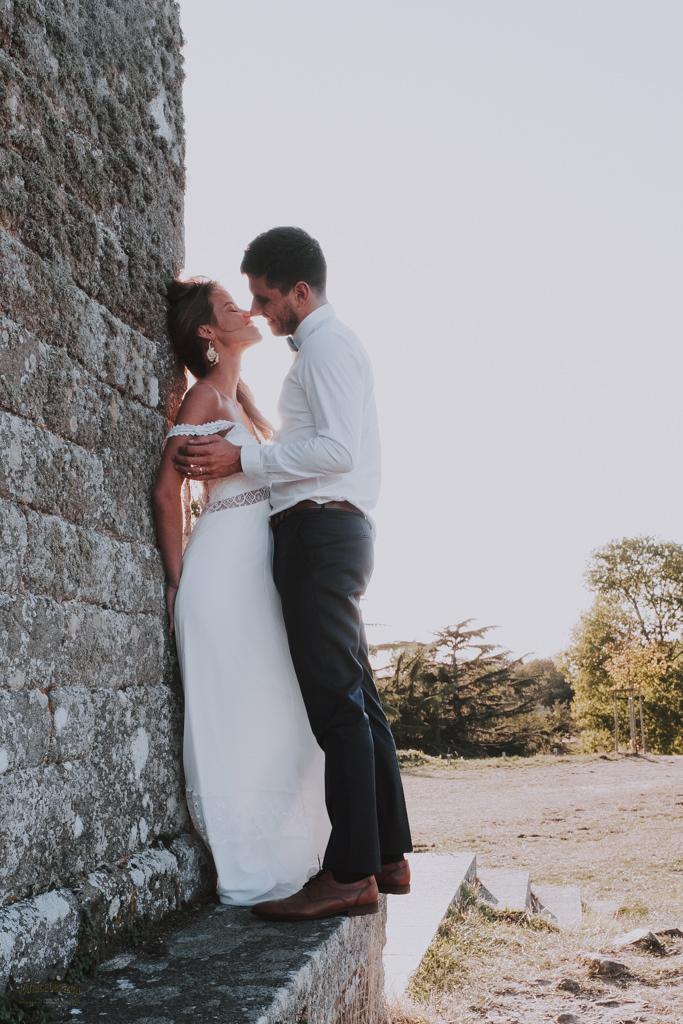 Mariage Bretagne couple Belle-noé