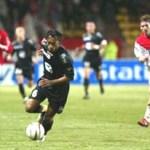 Monaco / ACA, derrnier but de la carrière de Patrice - 2004