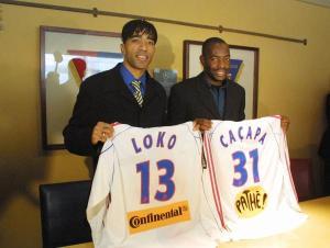 Signature à Lyon avec C. Caçapa - 01/2001