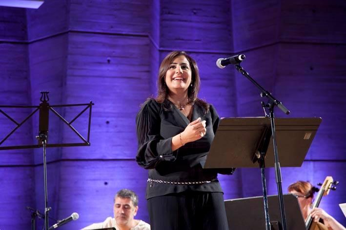 """Opéra d'Orient """"Les Jardins d'Adonis"""", du compositeur libanais Wassim Soubra, interprété à l'UNESCO de Paris le 20 juin 2014, en partenariat avec le Festival de Baalbeck et en la présence du président de la république libanaise Michel Sleiman et le ministre libanais de la culture Rony Arayji"""