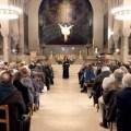 Patricia Atallah à l'église Saint Ferdinand des Ternes à Paris
