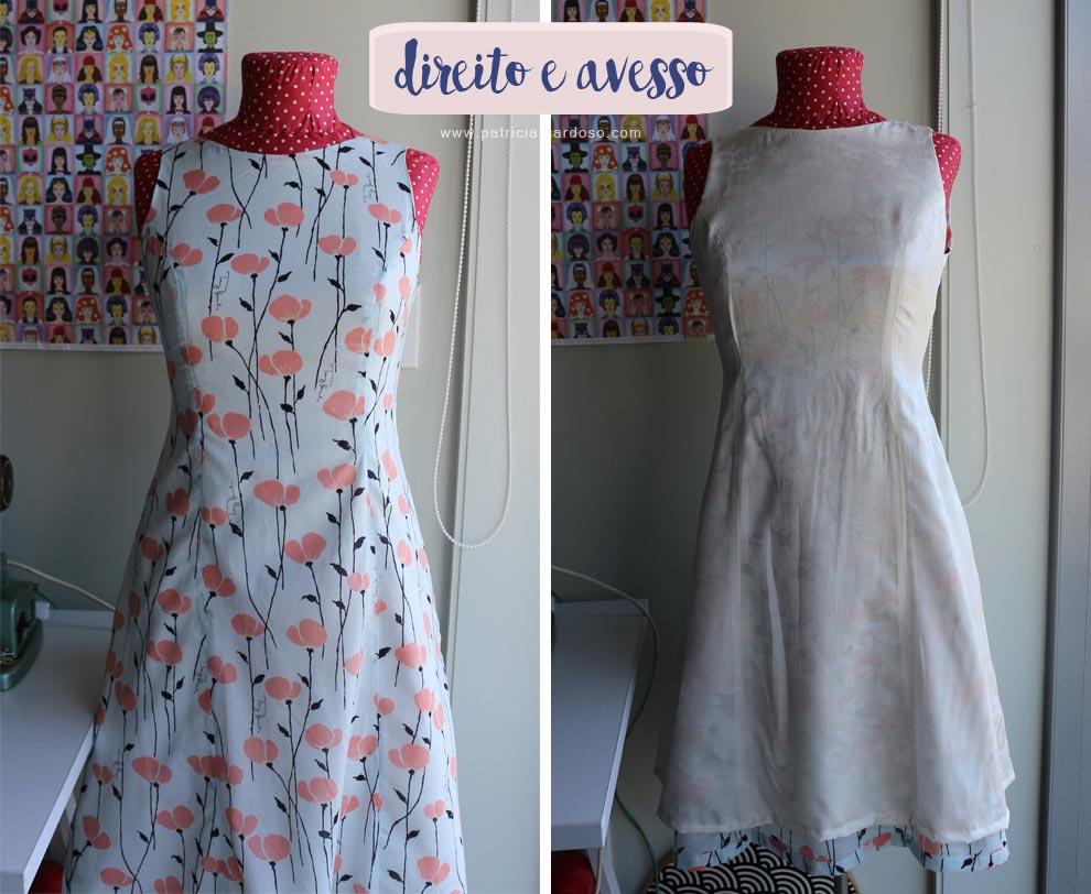 costurando um vestido | Patricia Cardoso