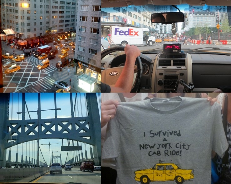 Taxi collage