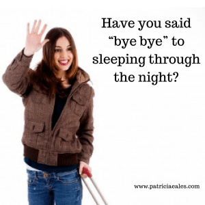Have you said 'bye bye' to sleeping through the night?